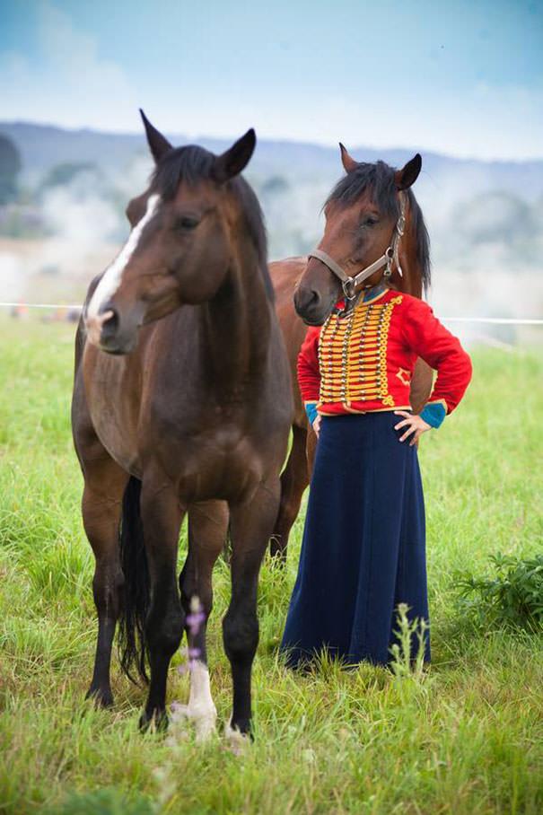決定的瞬間:馬と馬人間