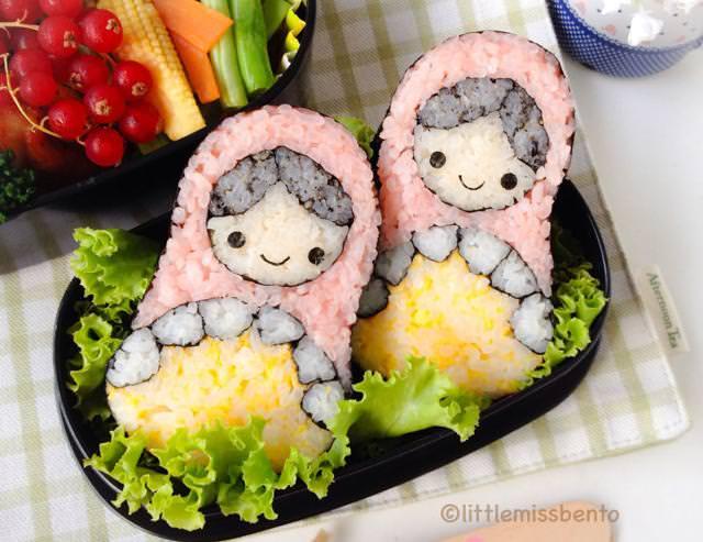 巻き寿司アート11:マトリョーシカ