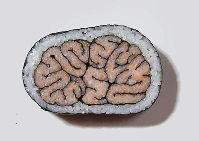 巻き寿司アート14:脳