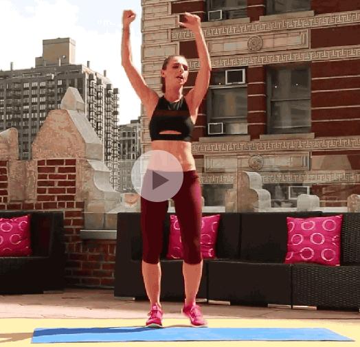 ダイエット運動メニュー2:体をひねる