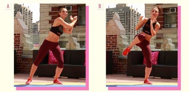 ダイエット運動メニュー4:上半身の横回転
