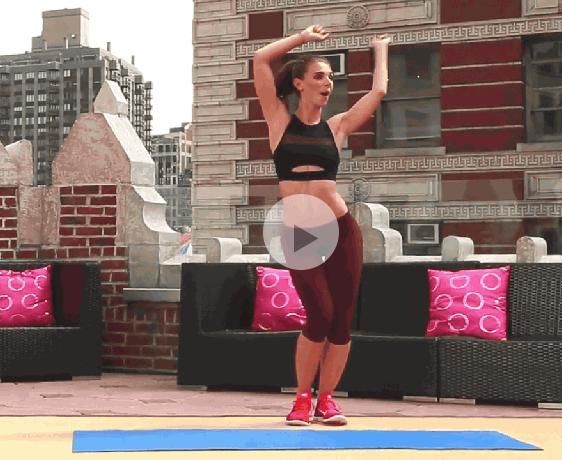 ダイエット運動メニュー7:腰とお尻の回転