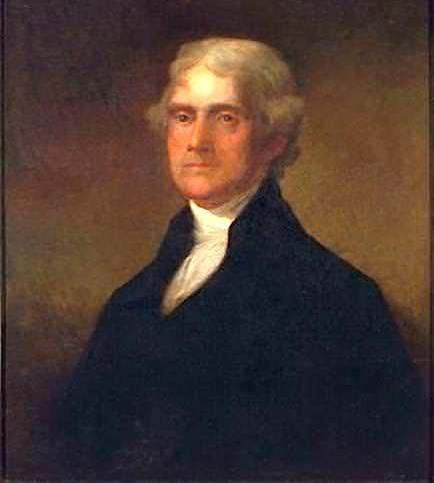 世界が尊敬する偉人:トーマス・ジェファーソン(政治家)