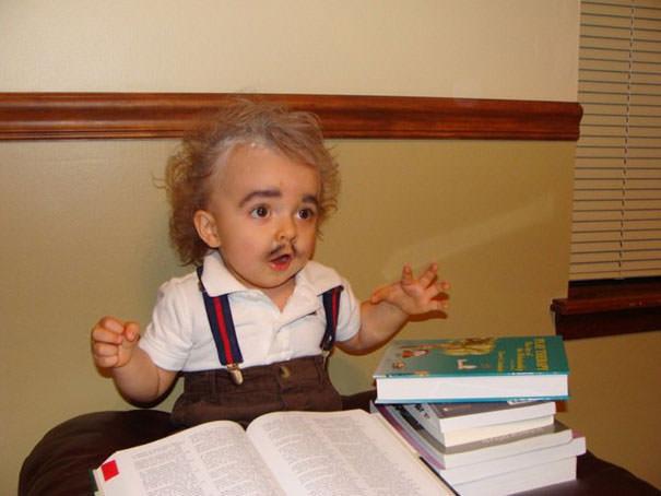アインシュタイン博士の仮装