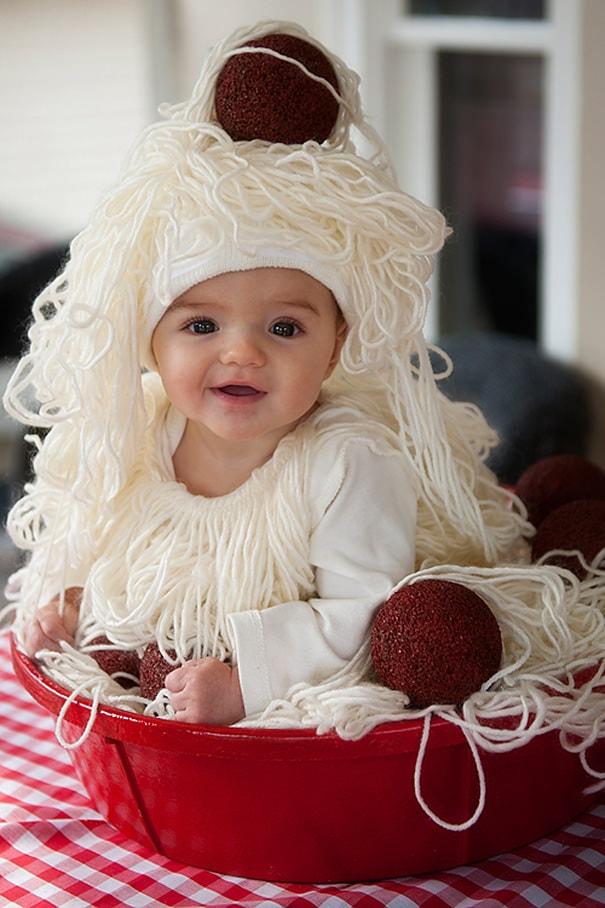 スパゲッティ&ミートボールの仮装