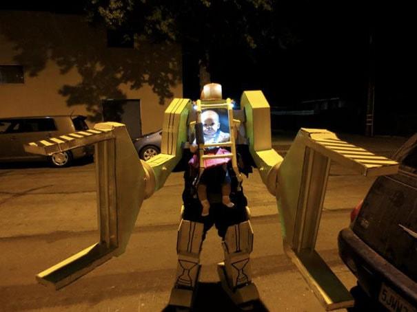 パワーローダー(エイリアン2)の仮装