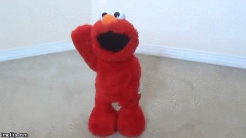 くすぐりエルモ(Tickle Me Elmo)