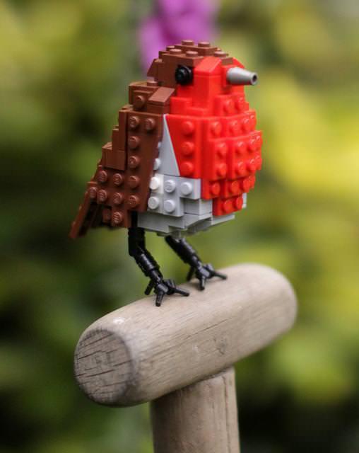 自然とLEGO Birdsとの調和