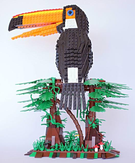 オニオオハシのLEGO作品