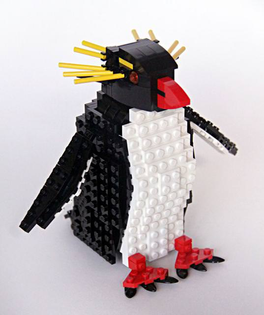ペンギンのLEGO作品