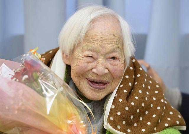 世界最高年齢のギネス記録保持者-大川ミサヲ