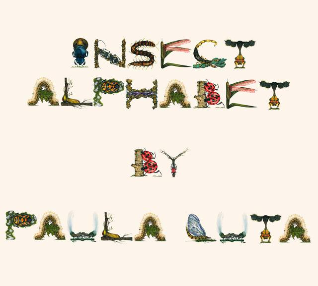 昆虫フォントの作者挨拶