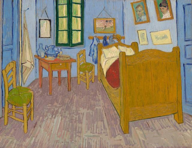 ファン・ゴッホの寝室(アルルの寝室)