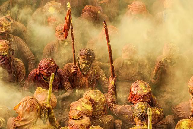 インドのホーリー祭(Holi)