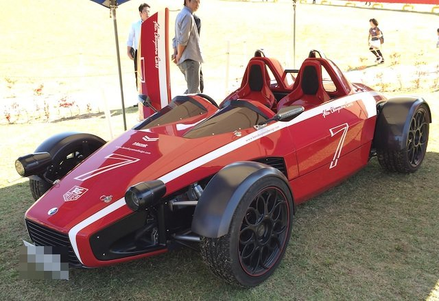 k.o.の不思議なオープンカー