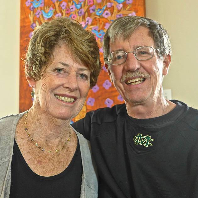 結婚52周年の老夫婦