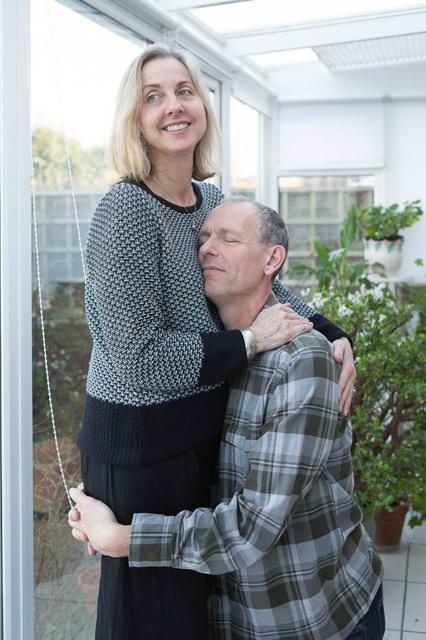 結婚24周年の老夫婦
