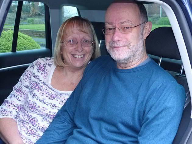 結婚16周年の老夫婦
