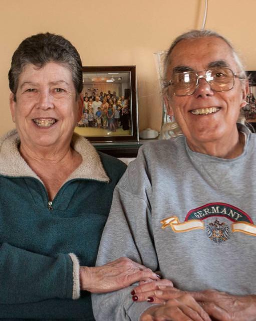 結婚33周年の老夫婦