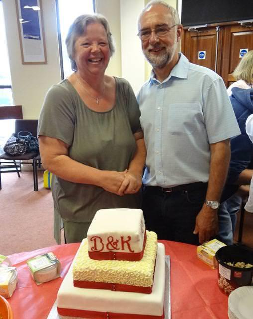 結婚42周年の老夫婦