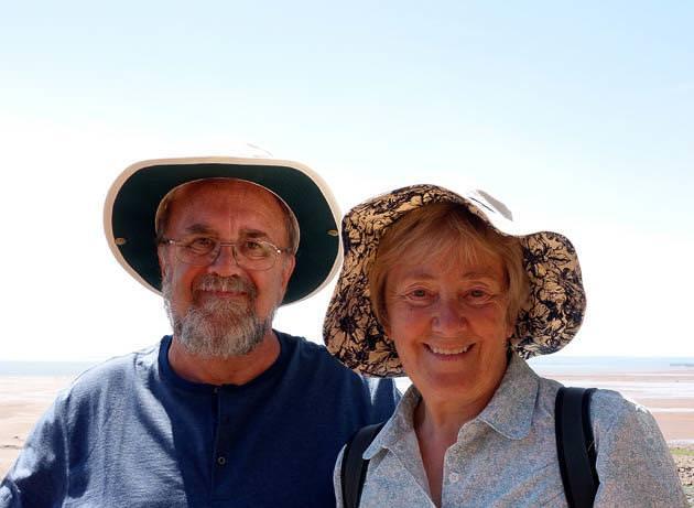 結婚47周年の老夫婦