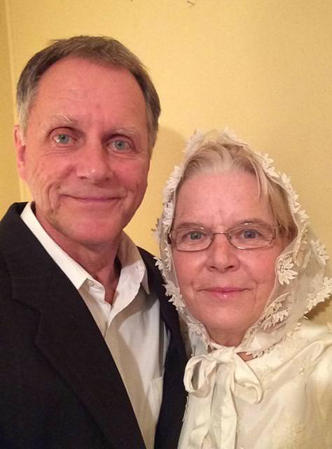 結婚44周年の老夫婦