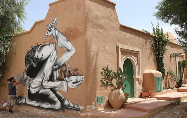 ブラジル人の描いたストリートアート:研究者