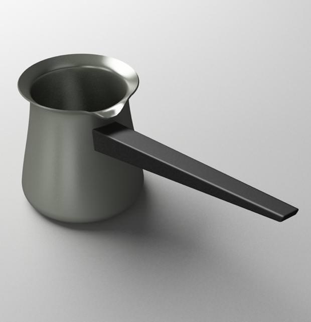 不便なデザイン:注ぎ口の位置が不便すぎる片手鍋