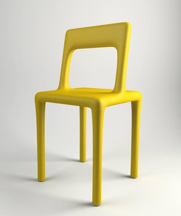 不便なデザイン:座り心地が超絶に悪い、背もたれの位置がおかしいイス