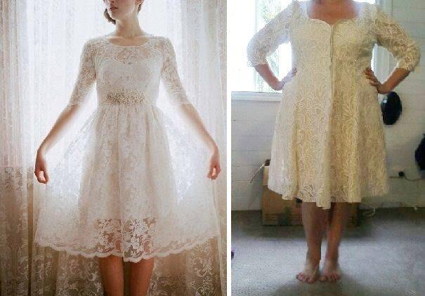 ウェディングドレスの失敗例:太っている体型