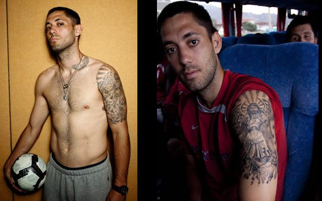 タトゥーが印象的なサッカー選手-クリント・デンプシー