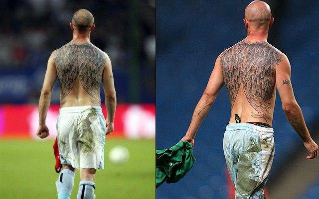 タトゥーが印象的なサッカー選手-スティーヴン・アイルランド