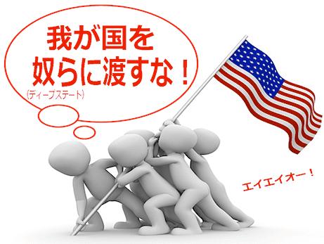 【グローバリズム vs 民主主義】アメリカファーストの意味はディープステートから国家主権を守ること