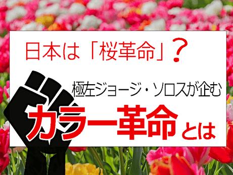 東欧カラー革命(色の革命)手法と事例まとめ - ソロスとCIAが政権転覆!