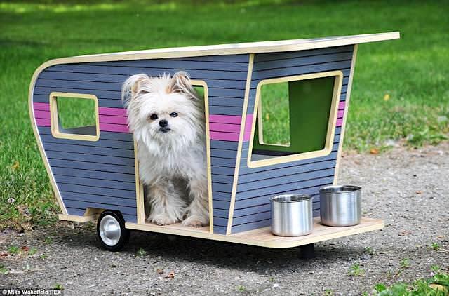 お洒落すぎる犬小屋たち(室内でも屋外でもOK)【愛犬のキャンピングカー】
