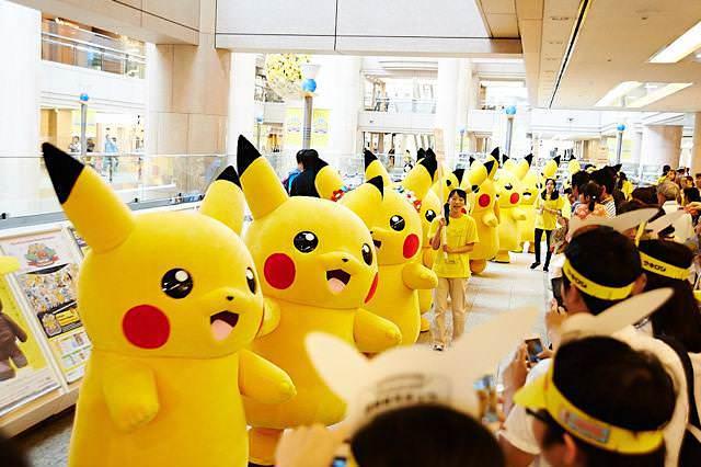 【ピカチュウ大量発生チュウ】1,000匹を超えるピカチュウが、横浜みなとみらい地区に出現!