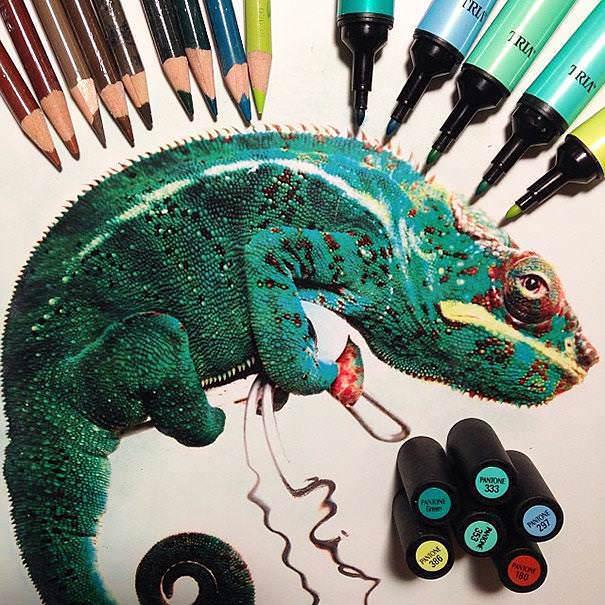 リアル絵を色鉛筆で描く方法14選【写真そっくり】