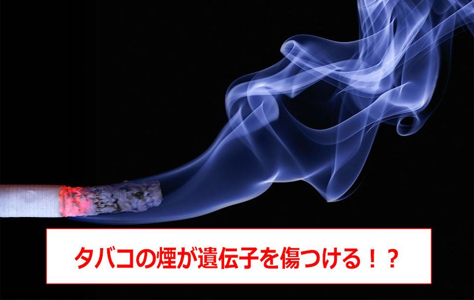 タバコの喫煙が遺伝子を傷つけ癌リスクを高めるまで、たったの15分!?
