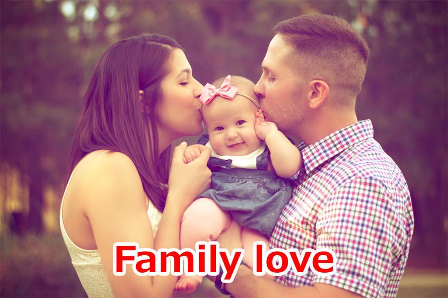 家族愛(家族の絆)が子供にもたらす驚きの効果4選