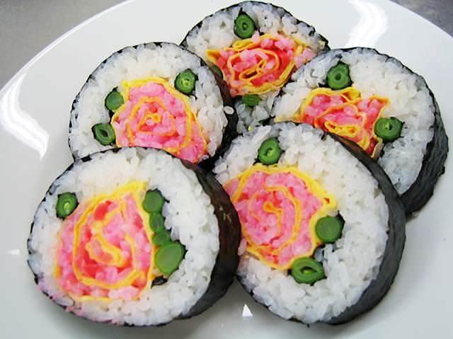 巻き寿司アート(デコ巻き寿司)の画像18選