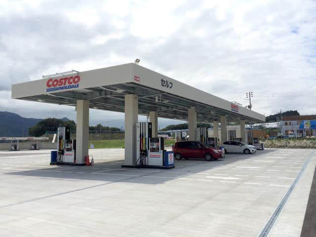 コストコ直営ガソリンスタンド(山形県かみのやま倉庫店)で給油した体験談