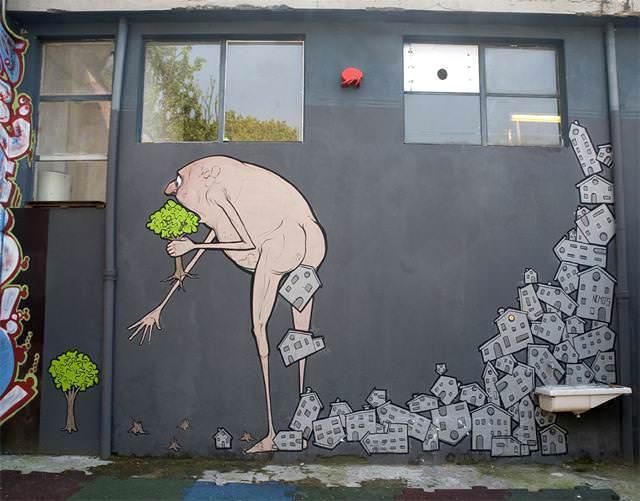 環境問題の風刺画14選 『考えさせられる絵』のテーマが面白い!