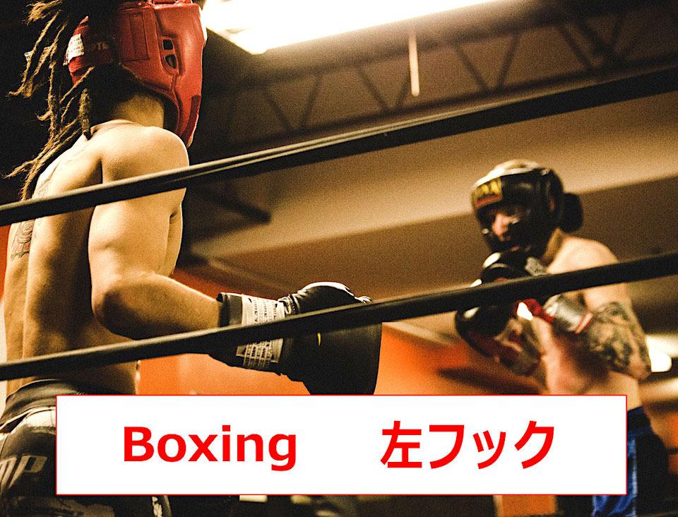 左フックの打ち方・コツ・威力・コンビネーションを動画で解説【ボクシング】