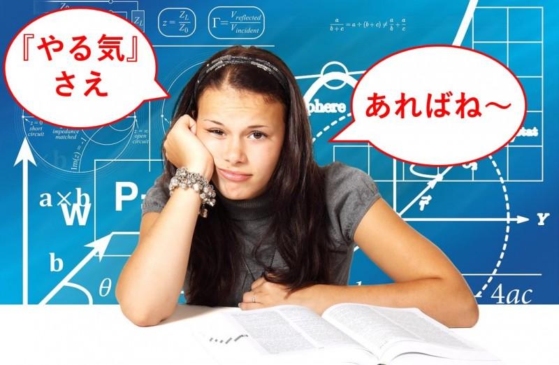 【受験生必見】勉強のやる気を出す!「やる気のない自分」の攻略法
