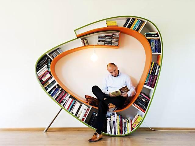 お洒落なデザインの本棚29選【クリエイティブなDIYのアイディアが凄い】