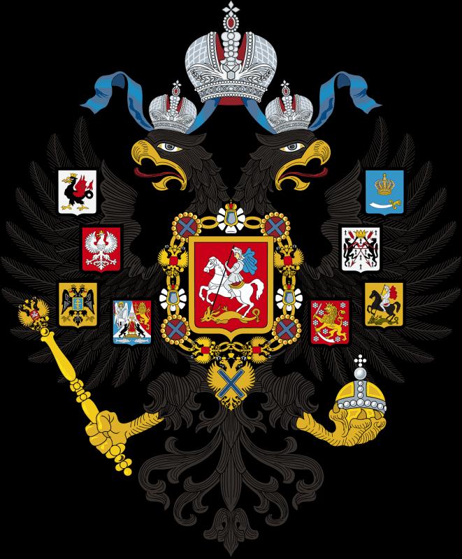 ディープステートによる日露戦争とロシア紋章