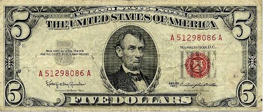 ケネディが発行した政府紙幣