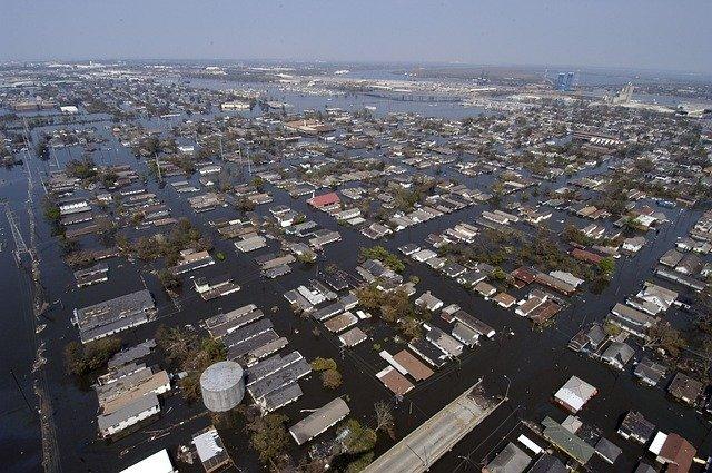 ニューオーリンズのハリケーン・カトリーナ被害