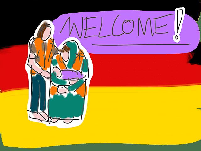 難民を歓迎したドイツ
