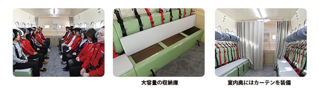 津波シェルター safe+600内部